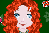 Baby Princess Merida Hairdresser