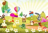 Cartoon Animal Escape