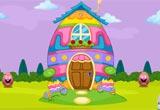 Egg House Smiley Escape