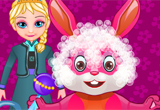 Elsas Easter Bunny Grooming