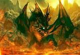 Escape From Fire Dragon Landscape