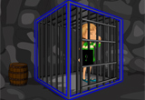 Escaping Girl From Cage