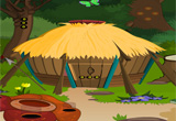 Forest Wooden Hut Escape