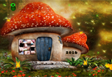 Mushroom House Baby Fairy Escape
