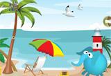 Red Sun Beach Escape 1