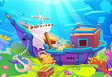 Undersea Treasure Escape