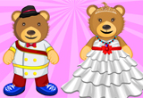 Wedding Couple Teddy Bear Makeover
